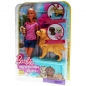 Preview: BARBIE - FDD43 Newborn Pups Doll & Pets