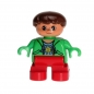 Preview: LEGO Duplo - Figure Child Boy 6453pb008