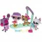 Preview: Littlest Pet Shop - Stylin Pets Runway 92618 -  Great Dane 1022, Flamingo 1023, Cat Shorthair 1024