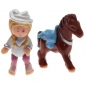Preview: Polly Pocket Mini - 1995 - Pony Parade Collection - Western Pony Mattel Toys 14505