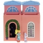 Preview: Polly Pocket Mini - 1999 - Dream Builders - Master Bedroom - Mattel Toys 23165