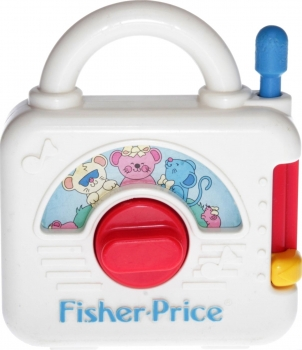 Fisher-Price - 1992 - Music Box 2475 ***RARITÄT***