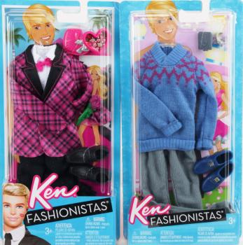 BARBIE - Fashionista 2 Ken Clothes