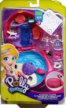 Polly Pocket 2018 - (FRY38) Flamingo Floatie Compact