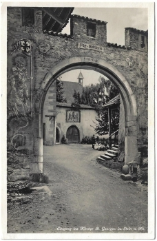 Postcard CH SH unused - Stein am Rhein Kloster St. Georgien