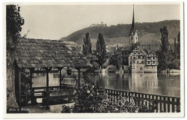Postcard CH SH unused - Stein am Rhein