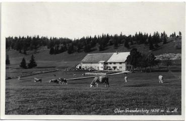 Postcard CH SO unused 19xx - Ober-Grenchenberg
