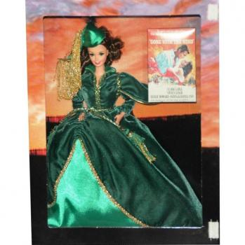 BARBIE - 12045 - 1994 Hollywood Legends Collection Scarlett O'hara Gone With The Wind