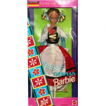 BARBIE - 12698 - 1994 German Barbie Dolls of The World