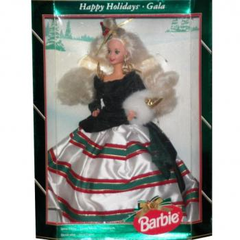BARBIE - 13545 - 1994 Happy Holidays Barbie Doll Gala