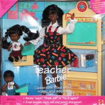 BARBIE - 13915 - 1995 Teacher Barbie Doll Set