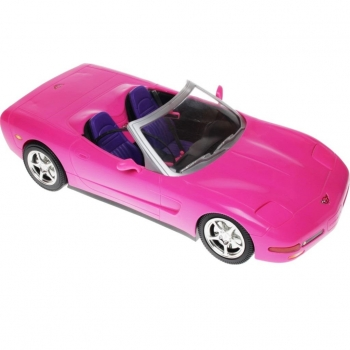 BARBIE - 2001 - P3494 Barbie Corvette & Doll Giftset