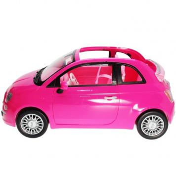 BARBIE - 2012 - Y6857 Fiat Vehicle pink