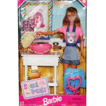 BARBIE - 20780 - 1998 Barbie Doll Sweet Treats