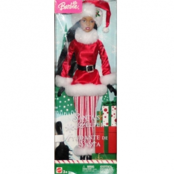 BARBIE - B6272 Barbie Santa's Helper
