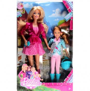 BARBIE - Y7556 - Barbie Sisters Barbie and Stacie 2 Pack