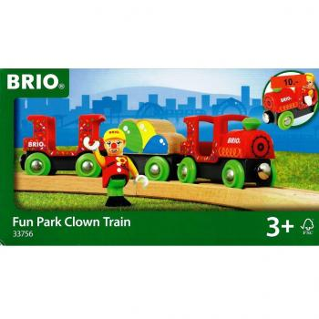 BRIO 33756 - Bunter Clown-Zug