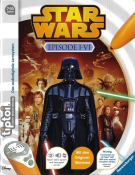 Ravensburger - tiptoi - Star Wars Episode I-VI
