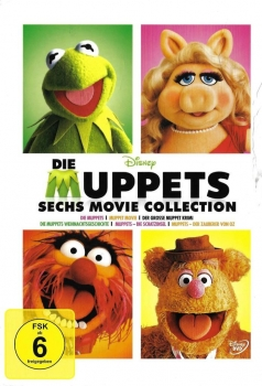 DVD - Die Muppets - 6 Movie Collection