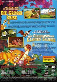dvd - in einem land vor unserer zeit - die grosse reise / das geheimnis der kleinen saurier