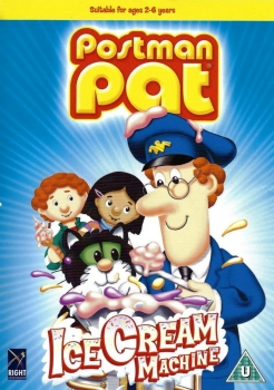 DVD - Postman Pat - Ice Cream Machine