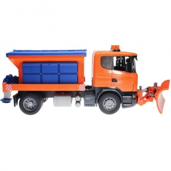BRUDER 03685 - MB Arocs winter service vehicle with with plough blade