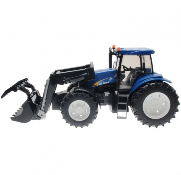 BRUDER 03021 - New Holland T8040 mit Frontlader