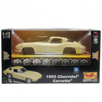Maisto - Assembly Line 39640 - 1965 Chevrolet Corvette