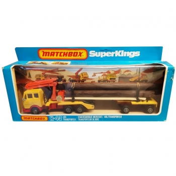 Matchbox Super Kings - K-43 Log Transporter