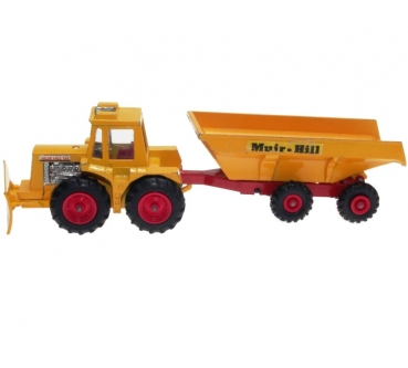 Matchbox Super Kings - K-5 Muir-Hill Tractor & Trailer