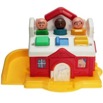 Fisher-Price - 1989 - Discovery Schoolhouse 1023