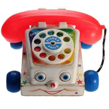 Fisher-Price - 1967 - Chatter Telephone 747