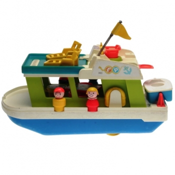 Fisher-Price - 1972 - Play Family Houseboat 985