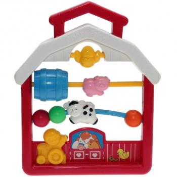 Fisher-Price - 1991 - Discovery Beads Farmhouse 1061