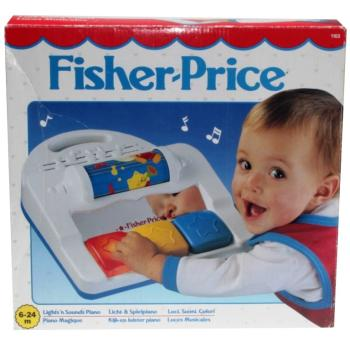 Fisher-Price - 1991 - Lights'n Sounds Piano 1102