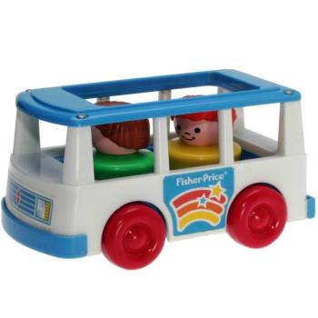 Fisher-Price - 1992 - Play Family Minibus Mini Van 2359