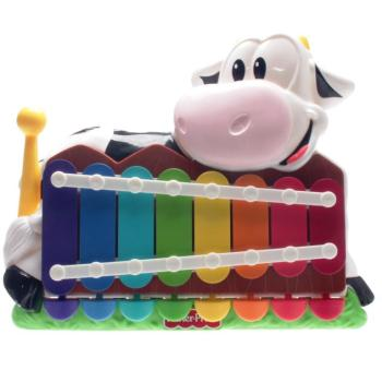 Fisher-Price K6081 - Moo-Sical Piano -To-Xylo