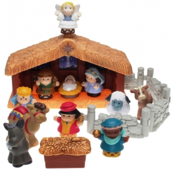 Fisher-Price Little People J4506 - Weihnachtskrippe