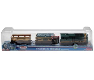 Fisher-Price X0764 - Trackmaster Thomas Greatest Moments Paxton in Trouble