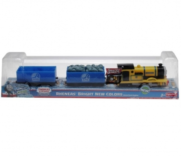 Fisher-Price X0765 - Trackmaster Thomas Greatest Moments Rheneas' Bright New Colors