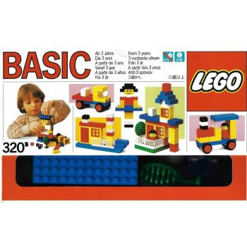 LEGO   320 - Basic Building Set