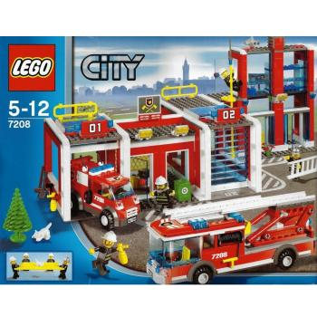 LEGO City  7208 - Fire Station