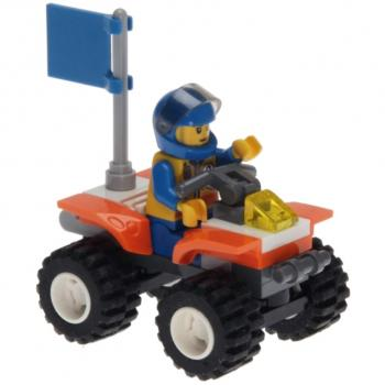 LEGO City  7736 - Coast Guard Quad Bike