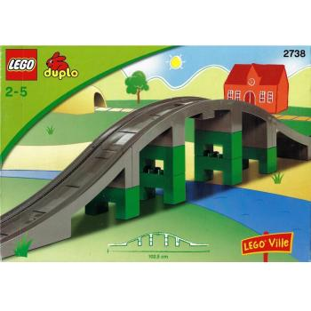 LEGO Duplo  2738 - Train Bridge