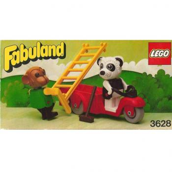 LEGO Fabuland 3628 - Perry Panda & Chester Chimp