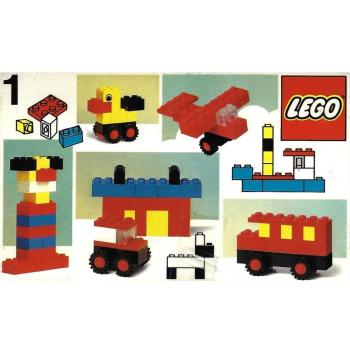 LEGO     1 - Basic Souvenir Box