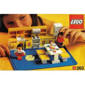 LEGO   263 - Complete Kitchen with 2 Figures