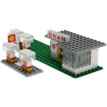 lego legoland 690 shell tankstelle decotoys. Black Bedroom Furniture Sets. Home Design Ideas