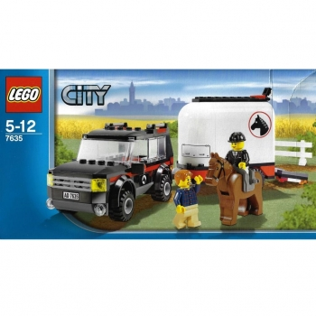 LEGO City  7635 - 4WD with Horse Trailer