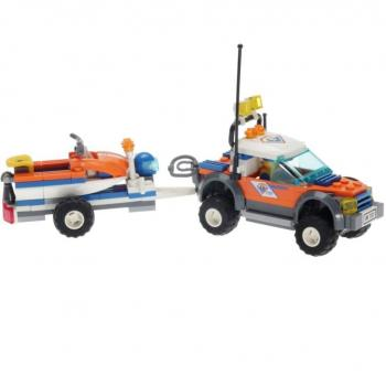 LEGO City  7737 - Coast Guard 4WD & Jet Scooter
